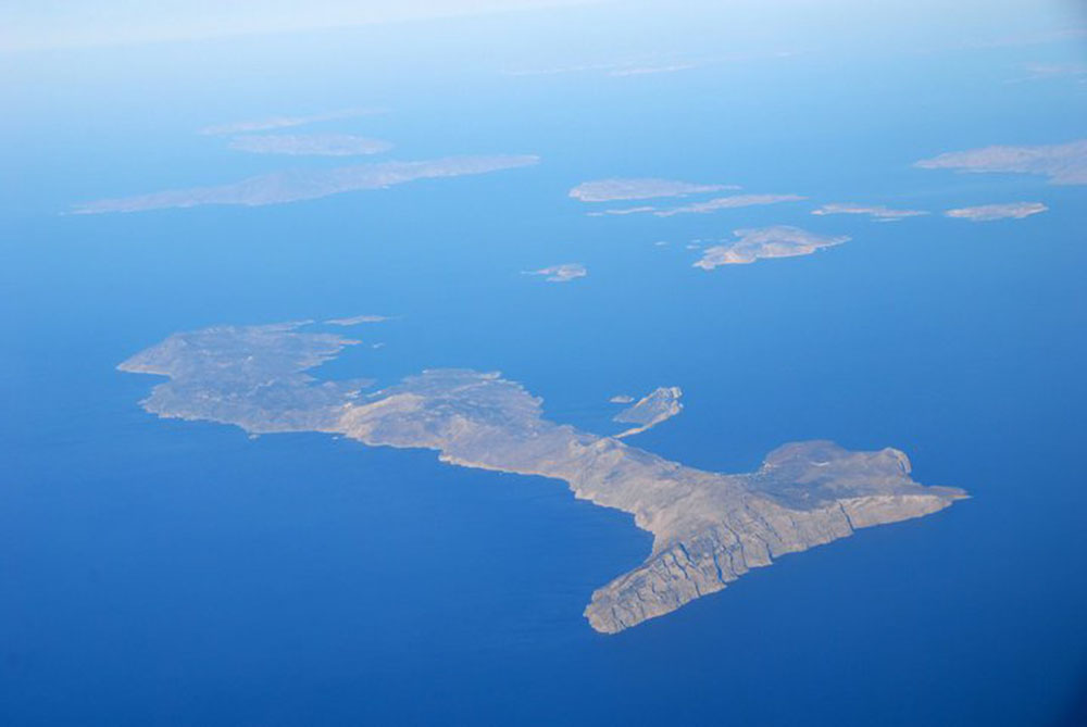 Amorgos from above